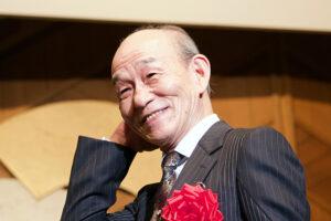 笹野高史さん、挨拶