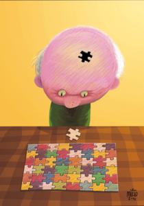 「パズル」大岩幹男様(50歳)